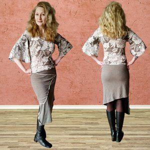 Refashioned Asymmetrical Dress (M/L)